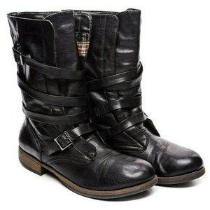 Crown Vintage Combat Boots sz 10